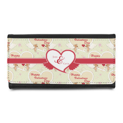 Mouse Love Leatherette Ladies Wallet (Personalized)