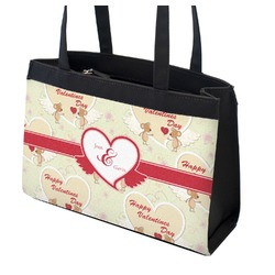 Mouse Love Zippered Everyday Tote w/ Couple's Names