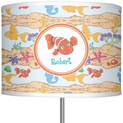 """Under the Sea 13"""" Drum Lamp Shade Polyester (Personalized)"""
