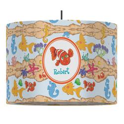 Under the Sea Drum Pendant Lamp (Personalized)