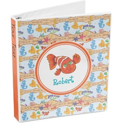 Under the Sea 3-Ring Binder (Personalized)