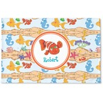 Under the Sea Woven Mat (Personalized)