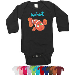 Under the Sea Bodysuit - Long Sleeves - 0-3 months (Personalized)