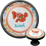 Under the Sea Cabinet Knob (Black) (Personalized)