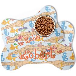 Under the Sea Bone Shaped Dog Food Mat (Personalized)