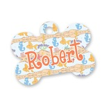 Under the Sea Bone Shaped Dog ID Tag (Personalized)