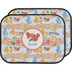 Under the Sea Car Floor Mats (Back Seat) (Personalized)