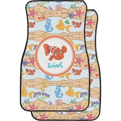 Under the Sea Car Floor Mats (Front Seat) (Personalized)