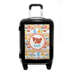 Under the Sea Carry On Hard Shell Suitcase (Personalized)