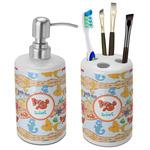 Under the Sea Bathroom Accessories Set (Ceramic) (Personalized)