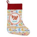 Under the Sea Holiday Stocking w/ Name or Text