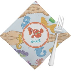 Under the Sea Napkins (Set of 4) (Personalized)