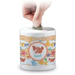 Under the Sea Coin Bank (Personalized)