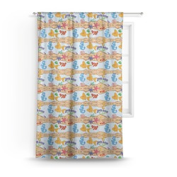 Under the Sea Curtain (Personalized)
