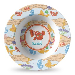 Under the Sea Plastic Bowl - Microwave Safe - Composite Polymer (Personalized)