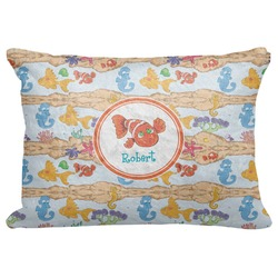 "Under the Sea Decorative Baby Pillowcase - 16""x12"" (Personalized)"