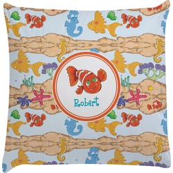 Under the Sea Decorative Pillow Case (Personalized)