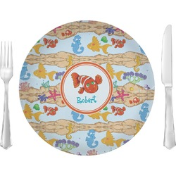 Under the Sea Glass Lunch / Dinner Plates 10