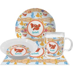 Under the Sea Dinner Set - 4 Pc (Personalized)