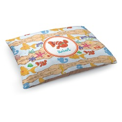 Under the Sea Dog Pillow Bed (Personalized)