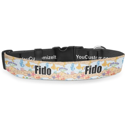 Under the Sea Deluxe Dog Collar (Personalized)