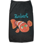 Under the Sea Black Pet Shirt (Personalized)