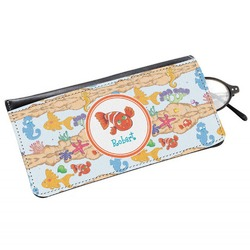 Under the Sea Genuine Leather Eyeglass Case (Personalized)