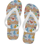 Under the Sea Flip Flops (Personalized)