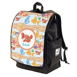 Under the Sea Backpack w/ Front Flap  (Personalized)