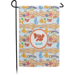 Under the Sea Garden Flags With Pole - Single or Double Sided (Personalized)