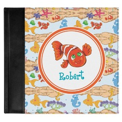 Under the Sea Genuine Leather Baby Memory Book (Personalized)