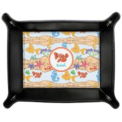 Under the Sea Genuine Leather Valet Tray (Personalized)