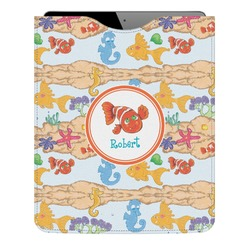 Under the Sea Genuine Leather iPad Sleeve (Personalized)