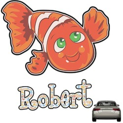 Under the Sea Graphic Car Decal (Personalized)