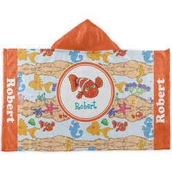 Under the Sea Kids Hooded Towel (Personalized)