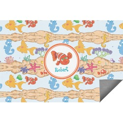 Under the Sea Indoor / Outdoor Rug - 8'x10' (Personalized)