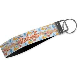 Under the Sea Wristlet Webbing Keychain Fob (Personalized)