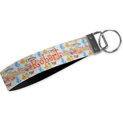 Under the Sea Wristlet Webbing Keychain Fob (Personalized)