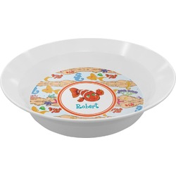 Under the Sea Melamine Bowl (Personalized)