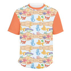 Under the Sea Men's Crew T-Shirt (Personalized)