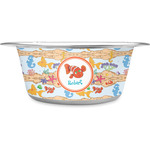 Under the Sea Stainless Steel Dog Bowl (Personalized)