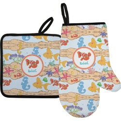 Under the Sea Oven Mitt & Pot Holder (Personalized)