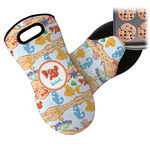 Under the Sea Neoprene Oven Mitt (Personalized)