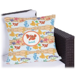 Under the Sea Outdoor Pillow (Personalized)