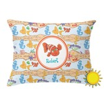 Under the Sea Outdoor Throw Pillow (Rectangular) (Personalized)