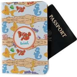 Under the Sea Passport Holder - Fabric (Personalized)