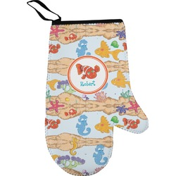 Under the Sea Right Oven Mitt (Personalized)