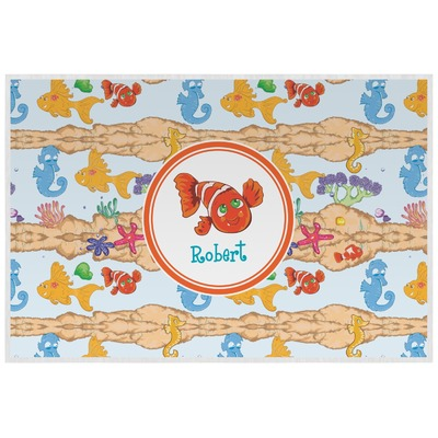 Under the Sea Laminated Placemat w/ Name or Text