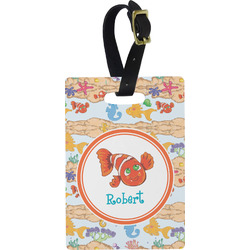 Under the Sea Rectangular Luggage Tag (Personalized)