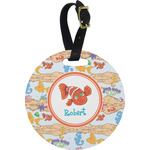 Under the Sea Round Luggage Tag (Personalized)
